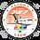 Thumbnail: Adesivo Bolacha Boeing 727 Transbrasil Laranja