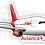 Thumbnail: Adesivo Silhueta Airbus A330 Avianca Brasil