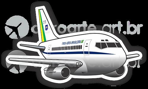 Adesivo Silhueta Boeing 737-200 FAB (VC-96)