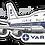 Thumbnail: Adesivo Silhueta Boeing 747-200 VARIG