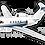 Thumbnail: Adesivo Silhueta Cessna Citation III