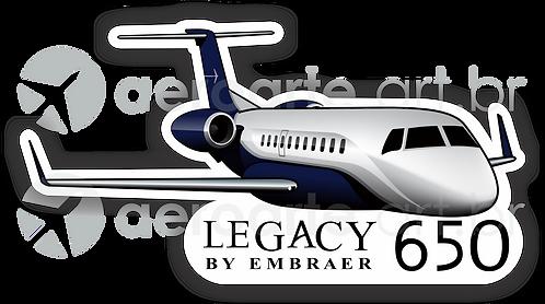 Adesivo Silhueta Embraer Legacy 650 (promoção)