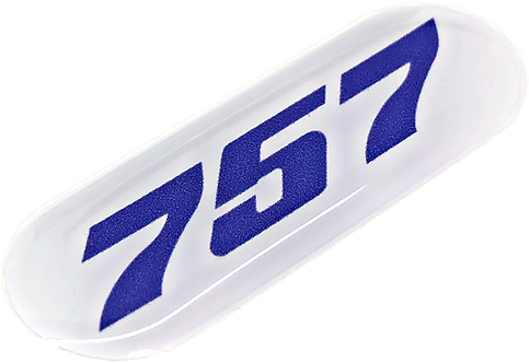 Adesivo Resinado Boeing 757