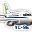 Thumbnail: Adesivo Silhueta Boeing 737-200 FAB (VC-96)
