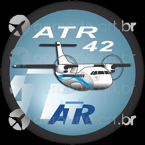 Adesivo Bolacha ATR 42