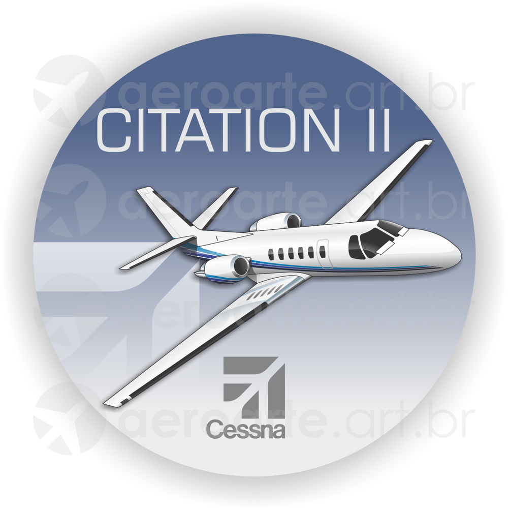 Adesivos Cessna