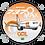 Thumbnail: Adesivo Bolacha Boeing 737MAX 8 GOL