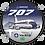 Thumbnail: Adesivo Bolacha Boeing 707 VARIG