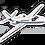 Thumbnail: Adesivo Silhueta Cessna Citation II