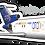 Thumbnail: Adesivo Silhueta Boeing 727-200F ATA Brasil
