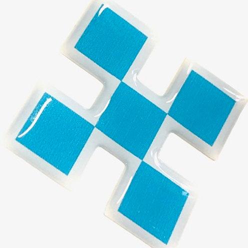 Adesivo Resinado Logo CRUZEIRO
