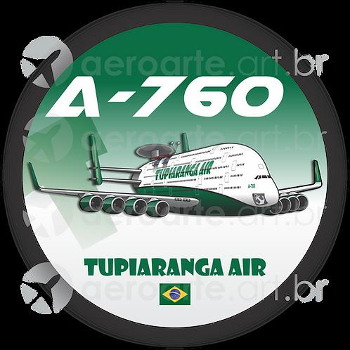 Adesivo Bolacha A-760 TUPIARANGA AIR