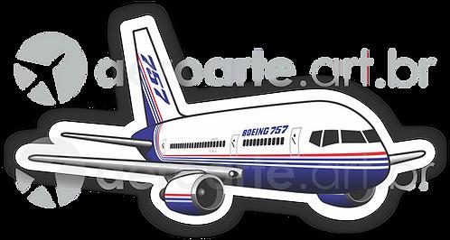 Adesivo Silhueta Boeing 757