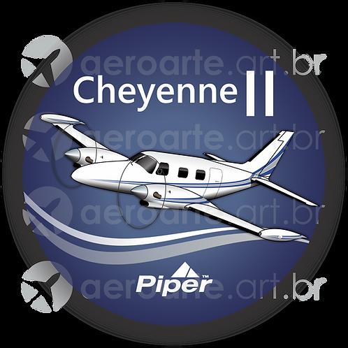Adesivo Bolacha Piper Cheyenne II