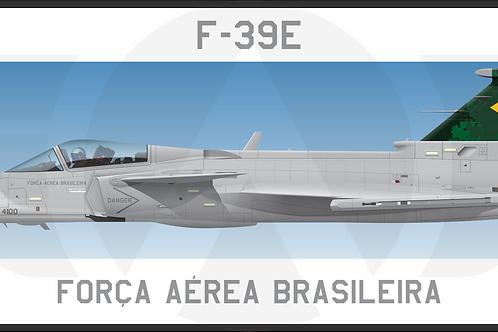 Adesivo Perfil F-39E / GRIPEN FAB