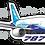 Thumbnail: Adesivo Silhueta Boeing 787