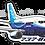 Thumbnail: Adesivo Silhueta Boeing 737-800