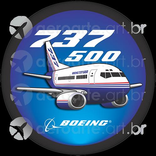 Adesivo Bolacha Boeing 737-500