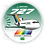Thumbnail: Adesivo Bolacha Boeing 727 Transbrasil Verde