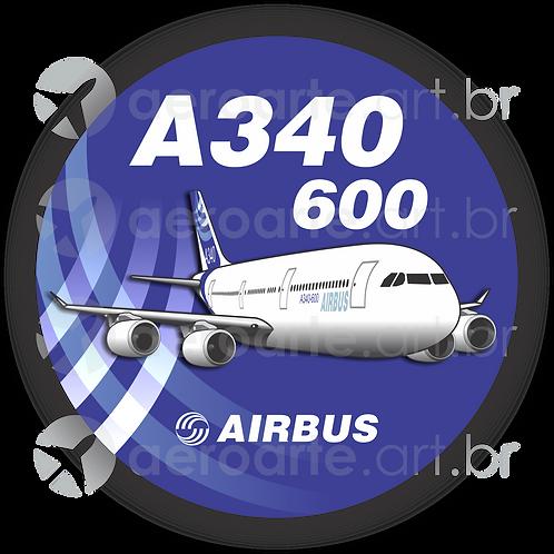Adesivo Bolacha Airbus A340-600