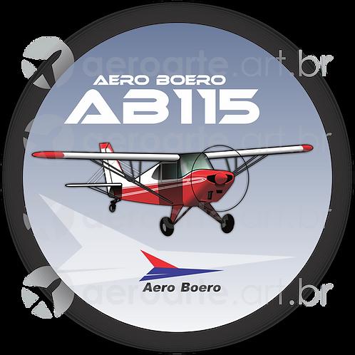 Adesivo Bolacha Aero Boero AB-115