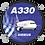 Thumbnail: Adesivo Bolacha Airbus A330