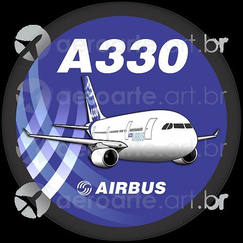 Adesivo Bolacha Airbus A330