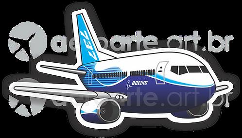 Adesivo Silhueta Boeing 737-800