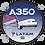 Thumbnail: Adesivo Bolacha Airbus A350 LATAM