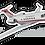Thumbnail: Adesivo Silhueta Embraer Legacy 500 FAB (IU-50 - GEIV)
