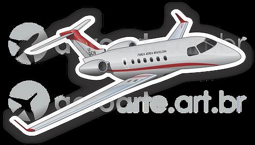 Adesivo Silhueta Embraer Legacy 500 FAB (IU-50 - GEIV)