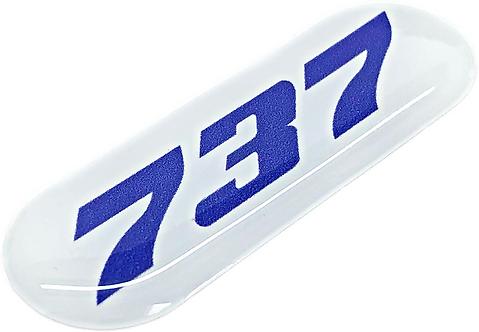 Adesivo Resinado Boeing 737
