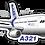 Thumbnail: Adesivo Silhueta Airbus A321 IAE