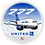 Thumbnail: Adesivo Bolacha Boeing 777 United New colors