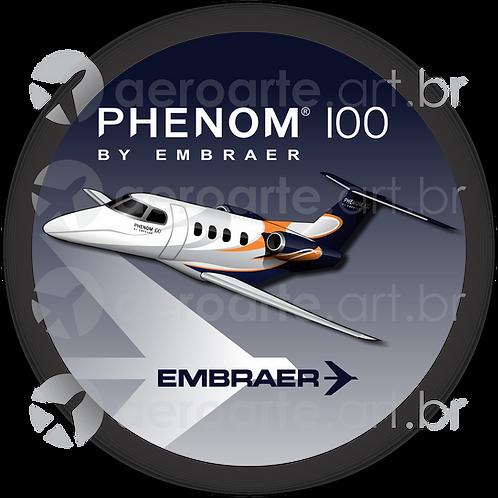 Adesivo Bolacha Embraer Phenom 100