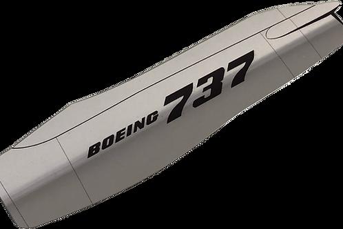 Adesivo Cromado Motor Boeing 737