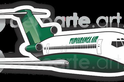 Adesivo Silhueta Boeing 727-200 TUPIARANGA AIR