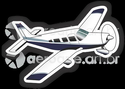 Adesivo Silhueta Embraer Minuano