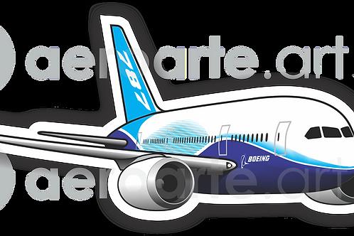 Adesivo Silhueta Boeing 787