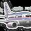 Thumbnail: Adesivo Silhueta Boeing 737-400