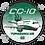 Thumbnail: Adesivo Bolacha Douglas DC-10 TUPIARANGA AIR