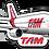 Thumbnail: Adesivo Silhueta Boeing 777-300ER TAM