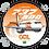 Thumbnail: Adesivo Bolacha Boeing 737-800 GOL 3ª Pintura