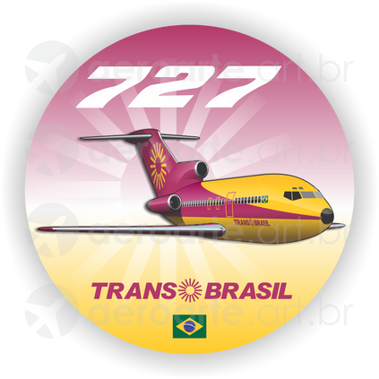 Adesivos Boeing
