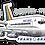 Thumbnail: Adesivo Silhueta Boeing 707 Transbrasil