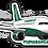 Thumbnail: Adesivo Silhueta Airbus A320 NEO TUPIARANGA AIR