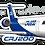 Thumbnail: Adesivo Silhueta Bombardier CRJ-200