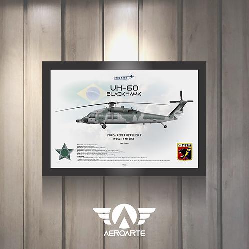 Pôster Perfil UH-60 BLACKHAWK FAB