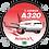 Thumbnail: Adesivo Bolacha Airbus A320 CFM Avianca Brasil new colors
