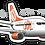 Thumbnail: Adesivo Silhueta Boeing 737-700 GOL 2ª Pintura